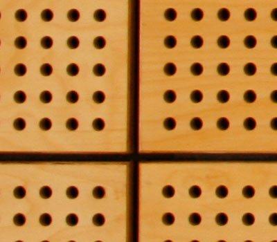 secret fixing of plywood panels