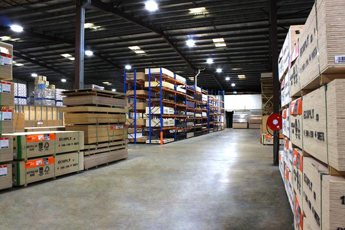 MDF supplier warehouse