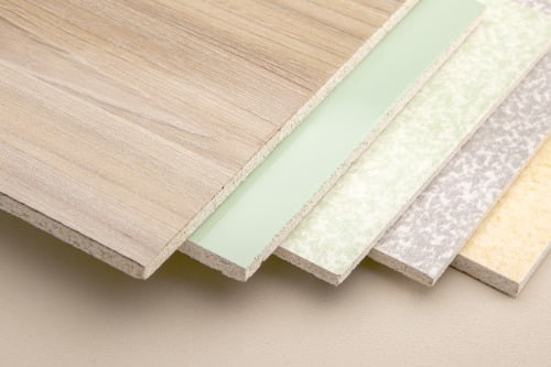 veneered MDF panels