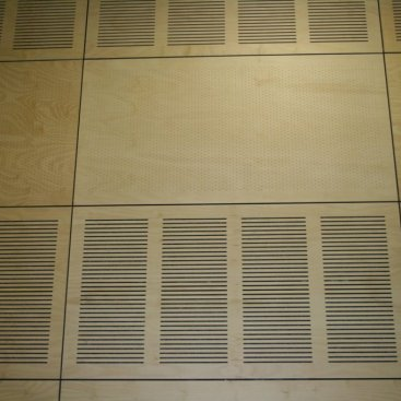 Plywood For Sydney School Sports Hall