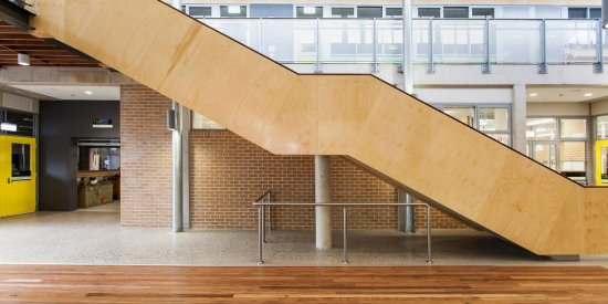 Plywood Panelling for staircases